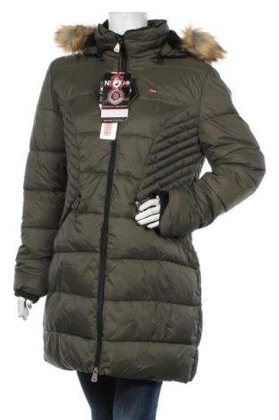Dámská bunda  Geographical Norway, Velikost XL, Barva Zelená, Polyamide, Cena  3576,00Kč