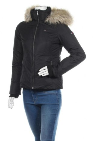 Dámská bunda  Tommy Hilfiger, Velikost S, Barva Černá, Polyester, peří, Cena  4229,00Kč