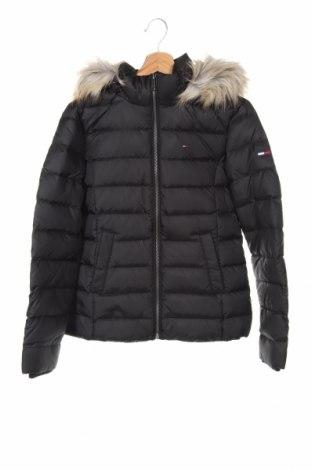 Dámská bunda  Tommy Hilfiger, Velikost XS, Barva Černá, Polyester, peří, Cena  4229,00Kč