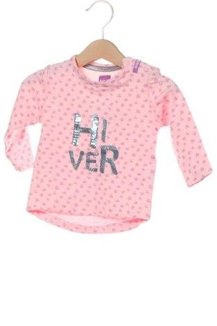 Детска блуза Beebielove, Размер 6-9m/ 68-74 см, Цвят Розов, 95% памук, 5% еластан, Цена 34,50лв.