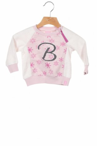 Детска блуза Beebielove, Размер 6-9m/ 68-74 см, Цвят Розов, Памук, полиестер, еластан, Цена 39,00лв.