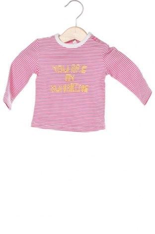Детска блуза Beebielove, Размер 2-3m/ 56-62 см, Цвят Розов, 95% памук, 5% еластан, Цена 26,25лв.