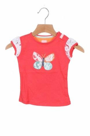 Детска блуза Beebielove, Размер 6-9m/ 68-74 см, Цвят Червен, 95% памук, 5% еластан, Цена 21,75лв.