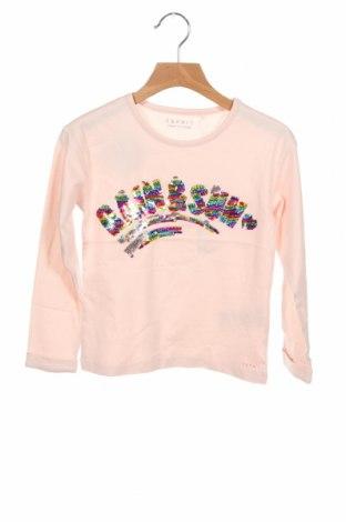 Детска блуза Esprit, Размер 5-6y/ 116-122 см, Цвят Розов, Памук, Цена 26,25лв.