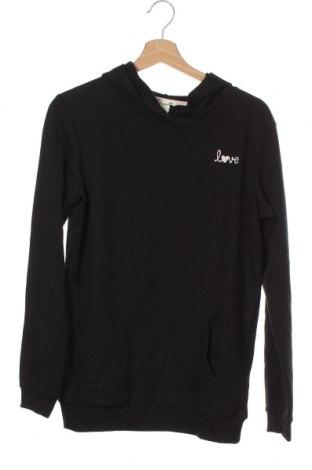 Bluză pentru copii H&M, Mărime 15-18y/ 170-176 cm, Culoare Negru, 58% bumbac, 39% poliester, 3% elastan, Preț 79,58 Lei