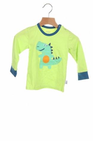 Bluză pentru copii Lamino, Mărime 9-12m/ 74-80 cm, Culoare Verde, 88% bumbac, 12% poliester, Preț 93,75 Lei