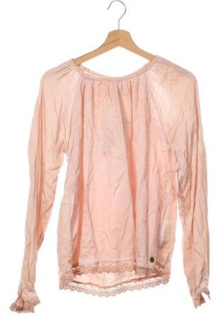 Dětská halenka  Pepe Jeans, Velikost 15-18y/ 170-176 cm, Barva Oranžová, 71% bavlna, 29% polyamide, Cena  700,00Kč
