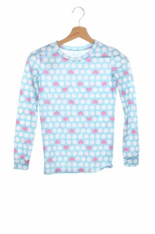 Детска блуза Place Est. 1989, Размер 11-12y/ 152-158 см, Цвят Син, 84% полиестер, 16% еластан, Цена 17,85лв.