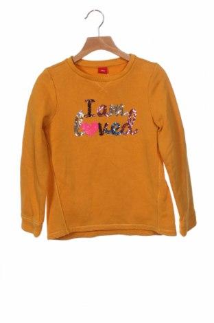 Dětská halenka  S.Oliver, Velikost 7-8y/ 128-134 cm, Barva Žlutá, 90% bavlna, 10% polyester, Cena  275,00Kč
