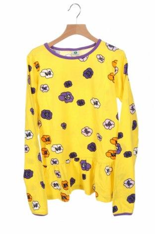 Детска блуза Smafolk, Размер 11-12y/ 152-158 см, Цвят Жълт, 95% памук, 5% еластан, Цена 36,75лв.