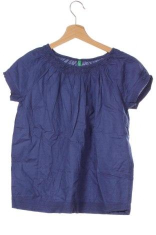 Bluză pentru copii United Colors Of Benetton, Mărime 10-11y/ 146-152 cm, Culoare Mov, Bumbac, Preț 59,68 Lei