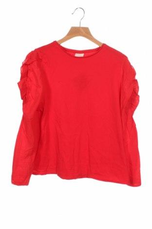 Παιδική μπλούζα Zara Kids, Μέγεθος 11-12y/ 152-158 εκ., Χρώμα Κόκκινο, Βαμβάκι, Τιμή 11,60€