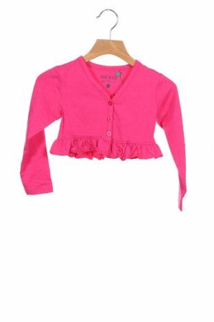 Pulover cu nasturi pentru copii Blue Seven, Mărime 2-3y/ 98-104 cm, Culoare Roz, 95% bumbac, 5% elastan, Preț 89,80 Lei