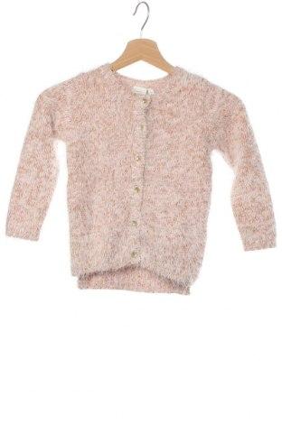 Детска жилетка Name It, Размер 3-4y/ 104-110 см, Цвят Розов, 60% памук, 40% полиестер, Цена 33,32лв.