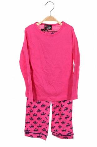 Dětské pyžamo, Velikost 4-5y/ 110-116 cm, Barva Růžová, Bavlna, Cena  386,00Kč