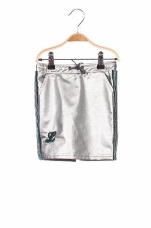 Dětská sukně  Looxs, Velikost 3-4y/ 104-110 cm, Barva Stříbrná, 65% bavlna, 35% polyester, Cena  539,00Kč