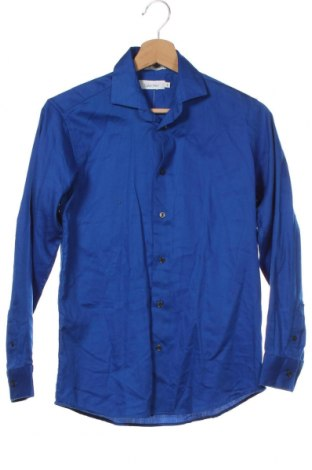 Dětská košile  Calvin Klein, Velikost 13-14y/ 164-168 cm, Barva Modrá, 60% bavlna, 40% polyester, Cena  446,00Kč