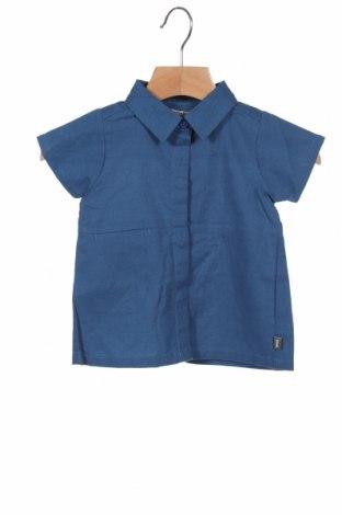 Cămașă pentru copii Imps&Elfs, Mărime 2-3m/ 56-62 cm, Culoare Albastru, Bumbac, Preț 145,56 Lei