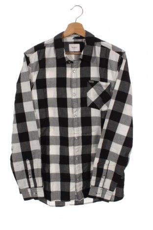 Детска риза Pepe Jeans, Размер 15-18y/ 170-176 см, Цвят Черен, Памук, Цена 51,75лв.