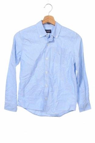 Детска риза Place Est. 1989, Размер 10-11y/ 146-152 см, Цвят Син, Памук, Цена 27,30лв.