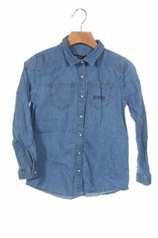 Παιδικό πουκάμισο Reserved, Μέγεθος 6-7y/ 122-128 εκ., Χρώμα Μπλέ, Βαμβάκι, Τιμή 11,14€