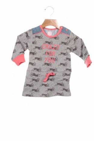 Детска рокля Beebielove, Размер 6-9m/ 68-74 см, Цвят Сив, 95% памук, 5% еластан, Цена 34,30лв.