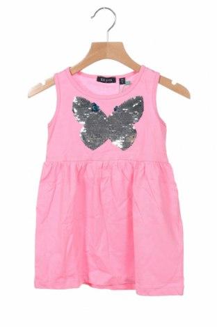 Dětské šaty  Blue Seven, Velikost 18-24m/ 86-98 cm, Barva Růžová, 100% bavlna, Cena  483,00Kč