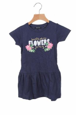 Rochie pentru copii Blue Seven, Mărime 18-24m/ 86-98 cm, Culoare Albastru, 100% bumbac, Preț 120,89 Lei