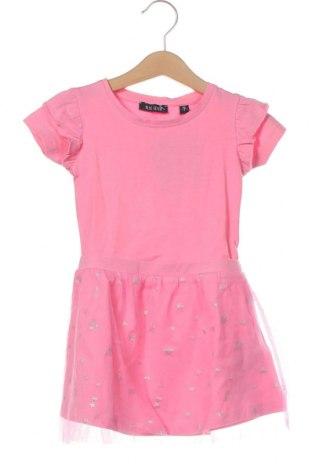 Dětské šaty  Blue Seven, Velikost 18-24m/ 86-98 cm, Barva Růžová, 95% bavlna, 5% elastan, Cena  513,00Kč
