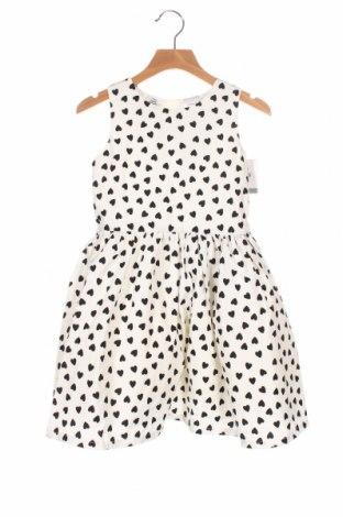 Rochie pentru copii Carter's, Mărime 5-6y/ 116-122 cm, Culoare Alb, 60% poliester, 35% bumbac, 5% fire din metal, Preț 145,56 Lei