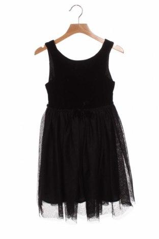 Dětské šaty  H&M, Velikost 7-8y/ 128-134 cm, Barva Černá, Polyester, viskóza, polyamide, Cena  515,00Kč
