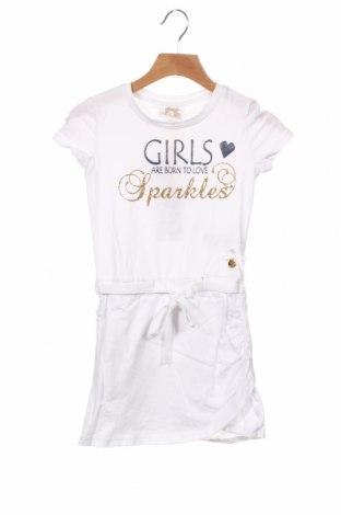 Dětské šaty  Le Chic, Velikost 3-4y/ 104-110 cm, Barva Bílá, 95% bavlna, 5% elastan, Cena  680,00Kč