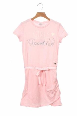 Dětské šaty  Le Chic, Velikost 8-9y/ 134-140 cm, Barva Růžová, 95% bavlna, 5% elastan, Cena  680,00Kč