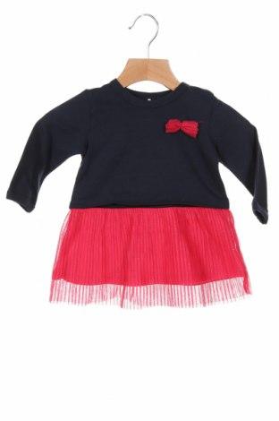 Dětské šaty  Name It, Velikost 2-3m/ 56-62 cm, Barva Modrá, 95% bavlna, 5% elastan, Cena  356,00Kč