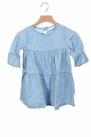 Детска рокля Name It, Размер 18-24m/ 86-98 см, Цвят Син, 100% лиосел, Цена 31,50лв.