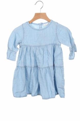Rochie pentru copii Name It, Mărime 18-24m/ 86-98 cm, Culoare Albastru, 100% lyocell, Preț 93,75 Lei