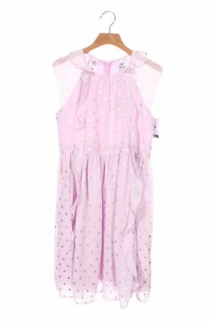 Детска рокля Oshkosh, Размер 10-11y/ 146-152 см, Цвят Лилав, Полиестер, Цена 44,25лв.