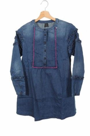Rochie pentru copii Replay, Mărime 12-13y/ 158-164 cm, Culoare Albastru, 97% bumbac, 3% elastan, Preț 367,60 Lei