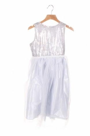 Rochie pentru copii Sofia Shelest, Mărime 7-8y/ 128-134 cm, Culoare Gri, 95% poliester, 5% elastan, Preț 194,90 Lei