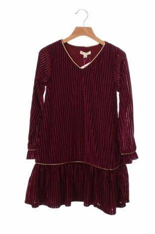 Rochie pentru copii Yumi, Mărime 7-8y/ 128-134 cm, Culoare Roșu, 90% poliester, 10% elastan, Preț 135,86 Lei