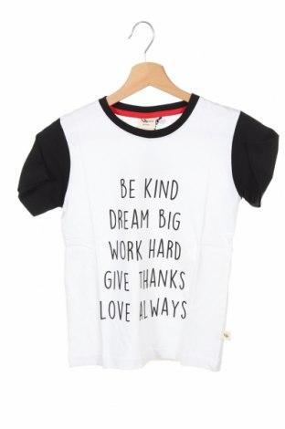 Детска тениска, Размер 8-9y/ 134-140 см, Цвят Бял, Памук, Цена 18,00лв.