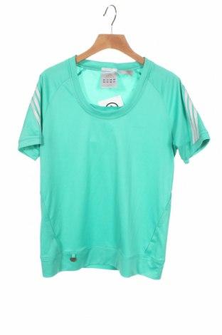 Παιδικό μπλουζάκι Adidas, Μέγεθος 13-14y/ 164-168 εκ., Χρώμα Πράσινο, Πολυεστέρας, Τιμή 10,21€