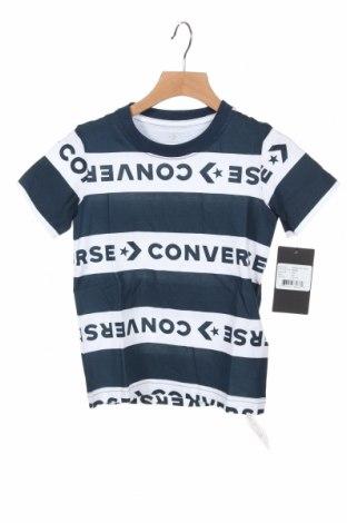 Детска тениска Converse, Размер 3-4y/ 104-110 см, Цвят Син, Памук, Цена 36,75лв.