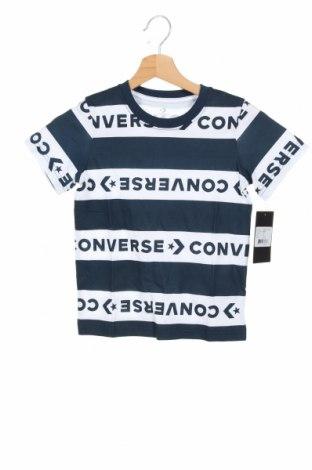 Tricou pentru copii Converse, Mărime 5-6y/ 116-122 cm, Culoare Albastru, Bumbac, Preț 88,65 Lei
