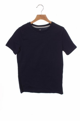 Dětské tričko  H&M, Velikost 8-9y/ 134-140 cm, Barva Modrá, Bavlna, Cena  263,00Kč