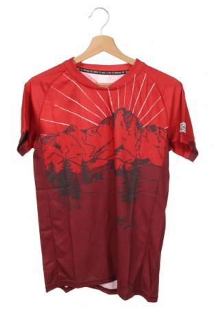 Tricou pentru copii Maloja, Mărime 13-14y/ 164-168 cm, Culoare Roșu, Poliester, Preț 104,77 Lei