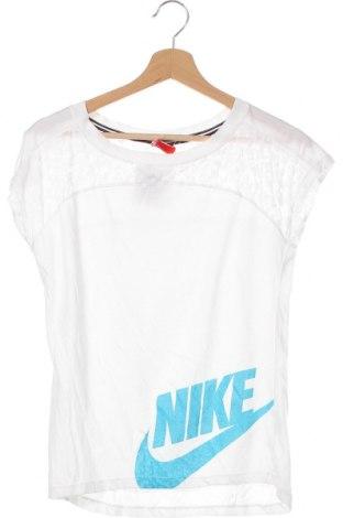Dětské tričko  Nike, Velikost 11-12y/ 152-158 cm, Barva Bílá, Cena  383,00Kč