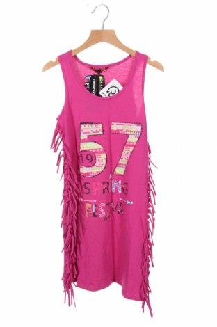 Tunică pentru copii Longboard, Mărime 10-11y/ 146-152 cm, Culoare Roz, 100% bumbac, Preț 113,49 Lei