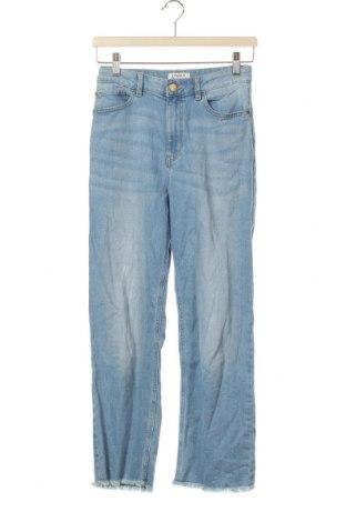 Dětské džíny  Lindex, Velikost 12-13y/ 158-164 cm, Barva Modrá, 99% bavlna, 1% elastan, Cena  383,00Kč