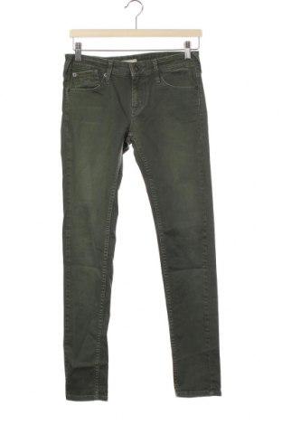 Dětské džíny  Pepe Jeans, Velikost 11-12y/ 152-158 cm, Barva Zelená, 98% bavlna, 2% elastan, Cena  670,00Kč